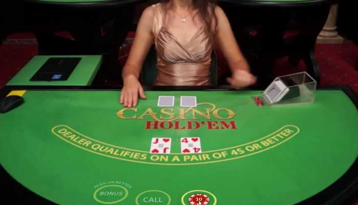 Casino Hold'em spill